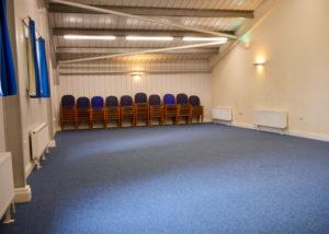 Landford Village Hall Blue Room Main Space