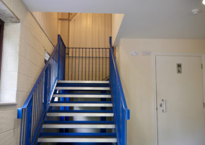 landford-village-hall-blue-room-entrance-hallway-stairs