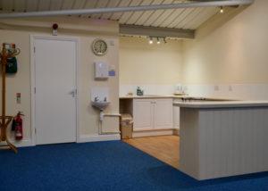 Landford Village Hall Blue Room Kitchenette