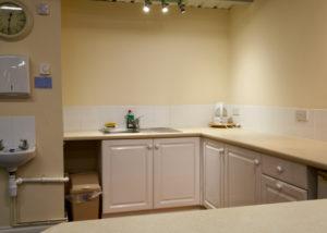 Landford Village Hall Blue Room Kitchenette 3