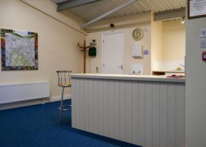 Landford Village Hall Blue Room Kitchenette 2