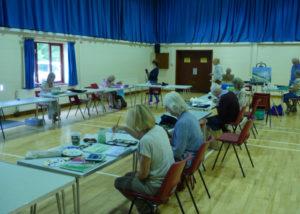 Landford Village Hall Arts and Crafts Group