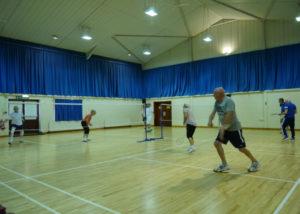 Landford Village Hall Badminton Group