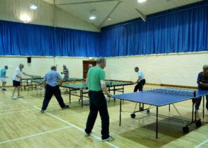Landford Village Hall Table tennis
