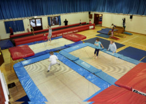 Landford Village Hall Trampolining