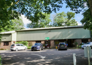 Landford Village Hall Outside Car Park