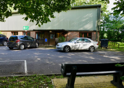 Landford Village Hall Outside Car Parking