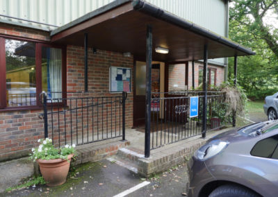 Landford Village Hall Outside Entrance